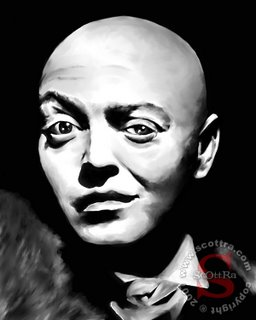 ScOttRa Monster Art: Peter Lorre in Mad Love